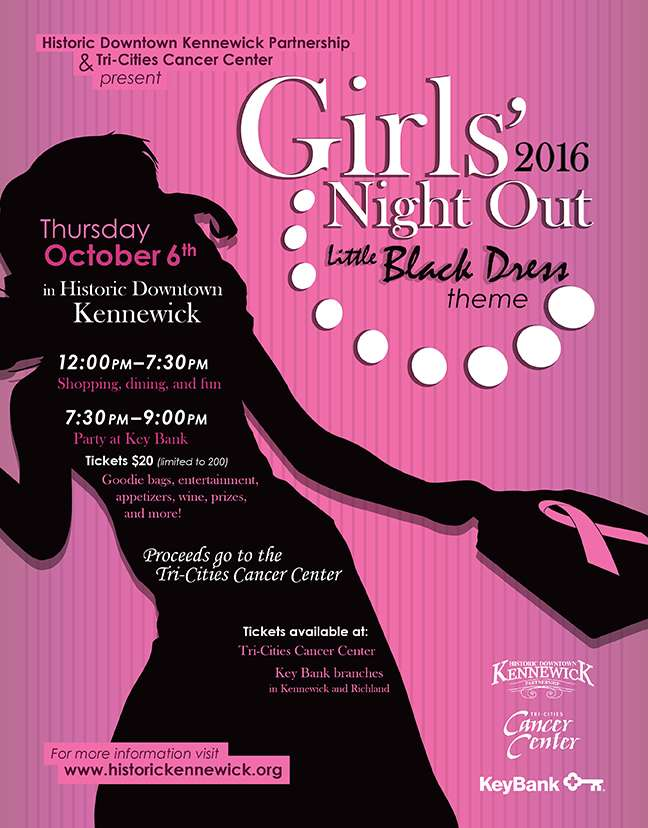 girls night out 2016 tri cities cancer center. Black Bedroom Furniture Sets. Home Design Ideas