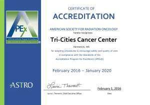 World Class Care, Close to Home – Tri-Cities Cancer Center