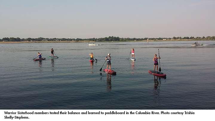 Warrior Sisterhood Paddle Board   Tri Cities Cancer Center