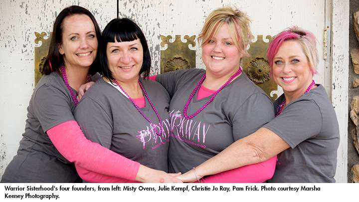 Warrior Sisterhood Founders   Tri Cities Cancer Center
